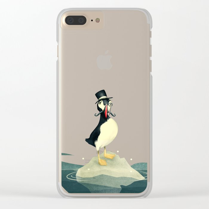Lord Puffin Clear iPhone Case
