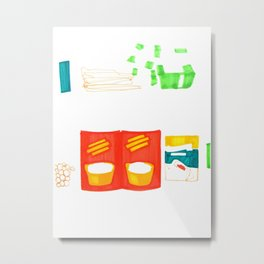 Can & Quick Pickle Metal Print