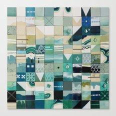 Sea Marks 1 Canvas Print