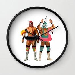 Muchas Macho Wall Clock