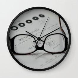 Closer Look Wall Clock