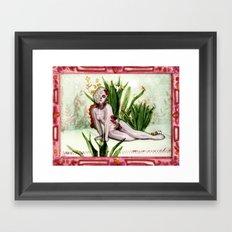 A Mexicana Framed Art Print