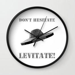 Don't hesitate, levitate! Wall Clock