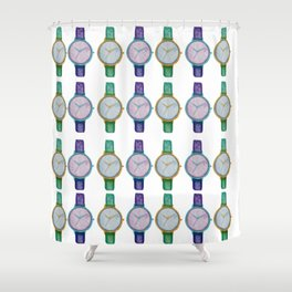 Catch your time Shower Curtain