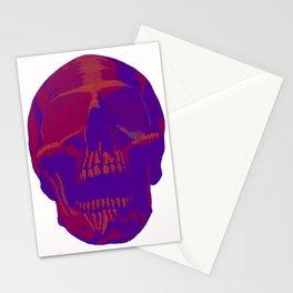 Blind Skull Purple Stationery Cards