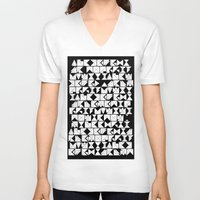 chaos V-neck T-shirts featuring Chaos  by Chris Klemens