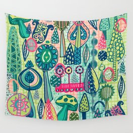 Mind Garden Wall Tapestry