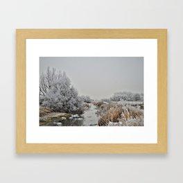 Cold Stream Framed Art Print