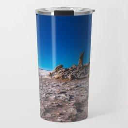 Las Tres Marías (Valle de la luna) - The three Marias Valley of the Moon, Atacama Desert, Chile Travel Mug
