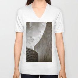 Texturized Brutalism Unisex V-Neck