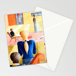 Oskar Schlemmer Woman's School Stationery Cards