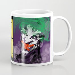 Caped Crusaders & Comedian Coffee Mug