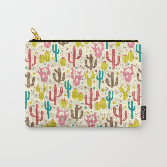 Prickly Cactus Carry-All Pouch