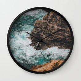 Kerry cliffs Wall Clock