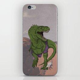 Hulkasaurus Rex - Superhero Dinosaurs Series iPhone Skin