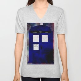 A stain in time and space Unisex V-Neck