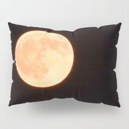 Orange Moon Pillow Sham