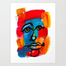 You Have to FaceYourself First Art Print