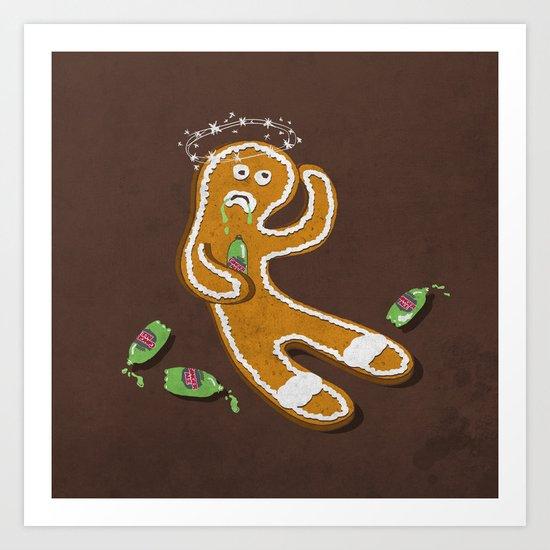 Ginger Ale Art Print