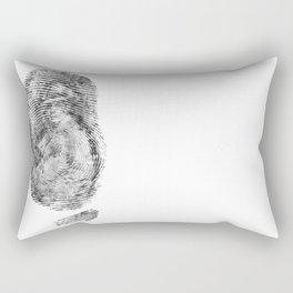Detective Thumb Rectangular Pillow