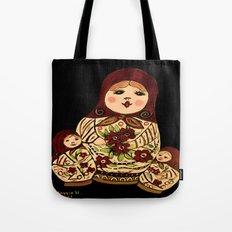 Russian dolls 2 / warmer colors  Tote Bag