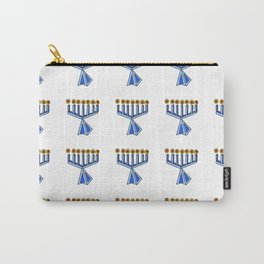 menorah 7,Hanukkah,jewish,jew,judaism,Festival of Lights,Dedication,jerusalem,lampstand,Temple, מְנו Carry-All Pouch