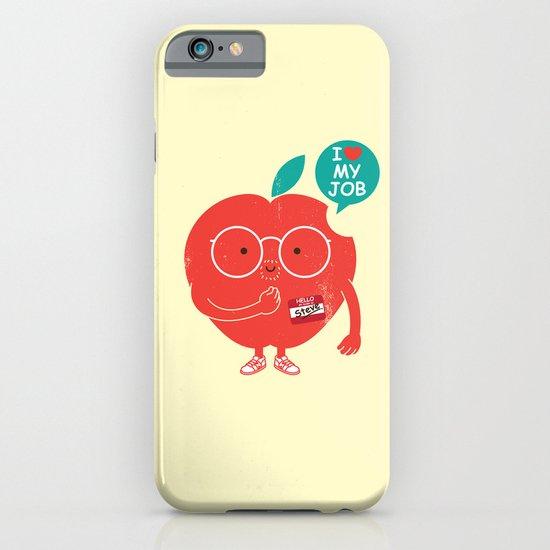 Steve love his job iPhone & iPod Case