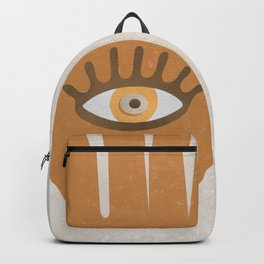 Hamsa, Hand of God#Art print#Society6 Backpack