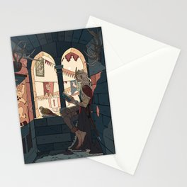 The festival is starting  Stationery Cards