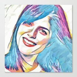 Selma Blair (Creative Illustration Art) Canvas Print