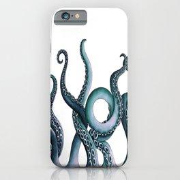 Kraken Teal iPhone Case