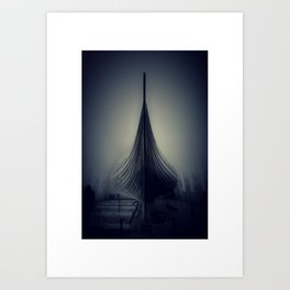 Viking Dream Art Print