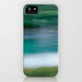 Sweeping Turquoise Lake iPhone Case