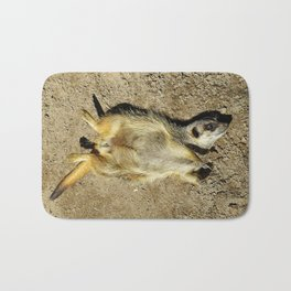 MM - Relaxing meerkat Bath Mat