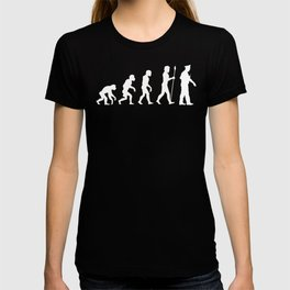 Policeman Evolution T-shirt