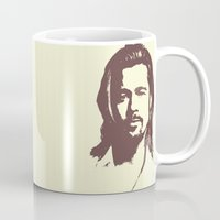 brad pitt Mugs featuring Brad Pitt :) by Dora Birgis