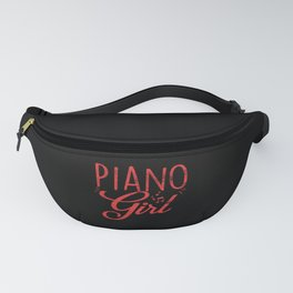 Piano Girl Pianist Fanny Pack
