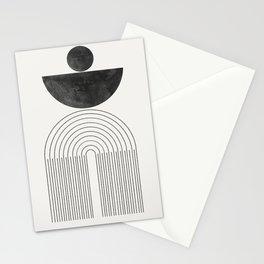 Geometric Minimal Shape Study No1. Stationery Cards