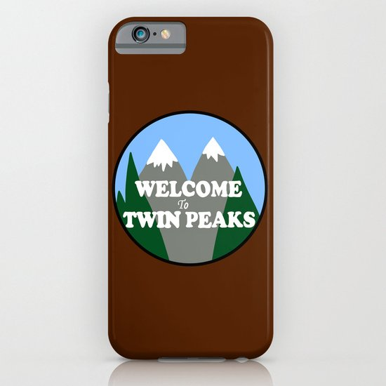 Welcome to Twin Peaks iPhone & iPod Case