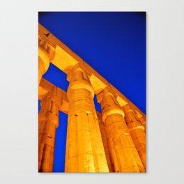 Luxor Temple Canvas Print