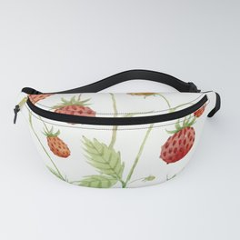 Wild Strawberries Fanny Pack