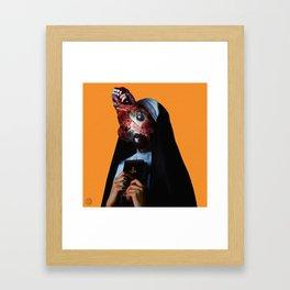 Metastatic Prioress Framed Art Print