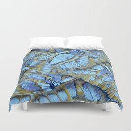 Blue Wings Duvet Cover