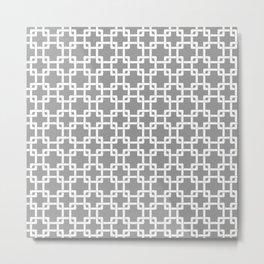 Gray Plummer Metal Print