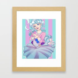 Pama the Magical Girl Framed Art Print
