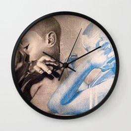 Little Prayer Warrior Wall Clock
