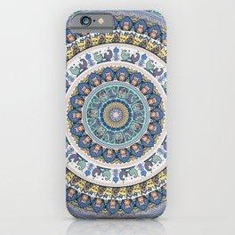 Frenchie Yoga Medallion iPhone Case