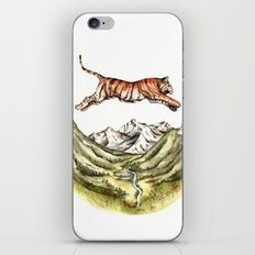 Tiger Leaping Gorge iPhone & iPod Skin