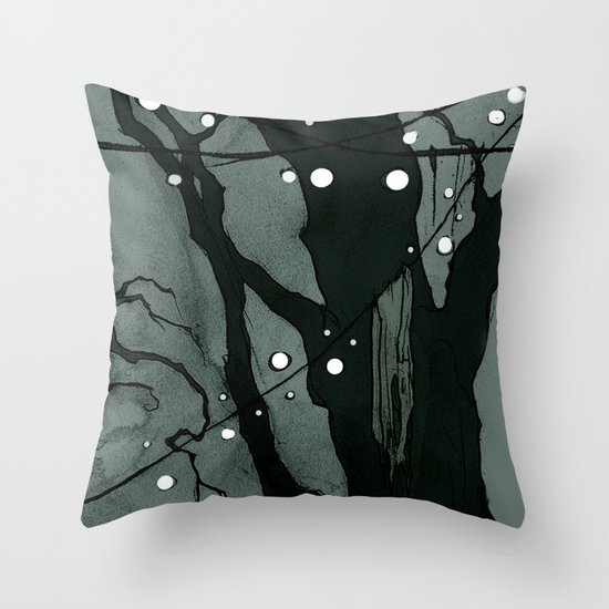 The Performers Throw Pillow