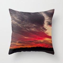 BEDOUIN SUNSET Throw Pillow